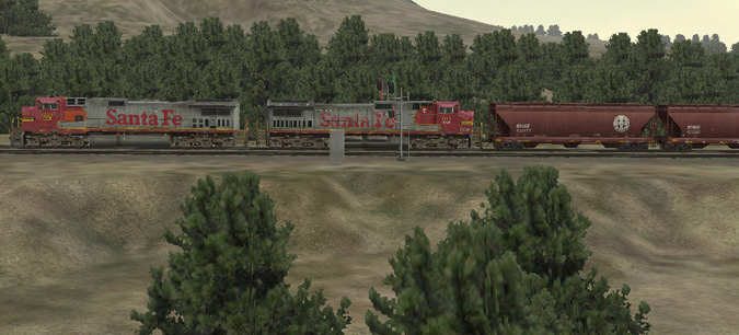 Post-Merger Santa Fe power